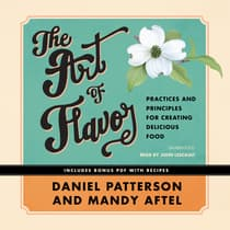 The Art of Flavor by Daniel Patterson audiobook