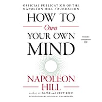 How to Own Your Own Mind by Napoleon Hill audiobook