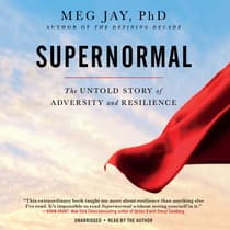 Supernormal by Meg Jay audiobook