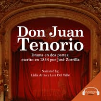 Don Juan Tenorio - A Spanish Play by Jose Zorrilla audiobook