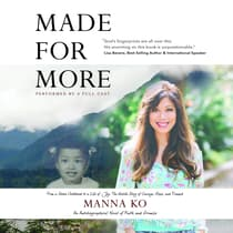 Made For More by Manna Ko audiobook