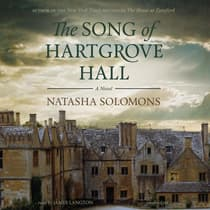 The Song of Hartgrove Hall by Natasha Solomons audiobook