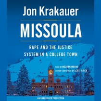 Missoula by Jon Krakauer audiobook