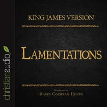 Holy Bible in Audio - King James Version: Lamentations by David Cochran Heath audiobook