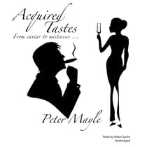 Acquired Tastes by Peter Mayle audiobook