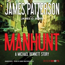 Manhunt by James Patterson audiobook