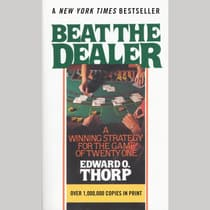 Beat the Dealer by Edward O. Thorp audiobook