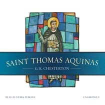 Saint Thomas Aquinas by G. K. Chesterton audiobook