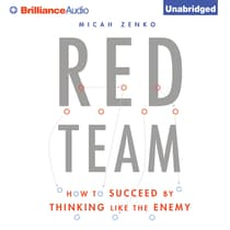 Red Team by Micah Zenko audiobook