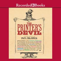 The Printer's Devil by Paul Bajoria audiobook