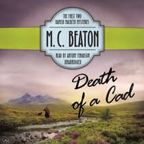 Death of a Cad by M. C. Beaton audiobook