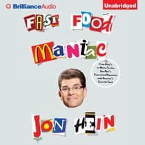Fast Food Maniac by Jon Hein audiobook