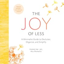 The Joy of Less by Francine Jay audiobook