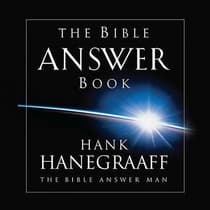 The Bible Answer Book by Hank Hanegraaff audiobook