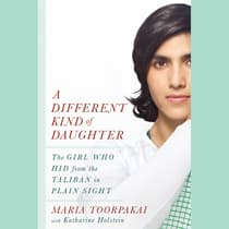 A Different Kind of Daughter by Maria Toorpakai audiobook