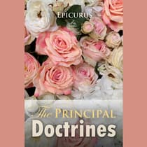 Epicurus: The Principal Doctrines by Epicurus  audiobook