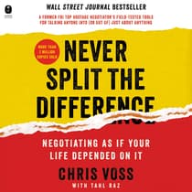 Never Split the Difference by Tahl Raz audiobook