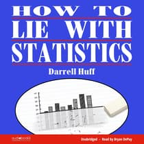 How to Lie with Statistics by Darrell Huff audiobook