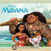 Moana by Disney Press audiobook