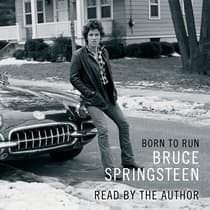 Born to Run by Bruce Springsteen audiobook