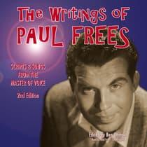The Writings of Paul Frees by Paul Frees audiobook