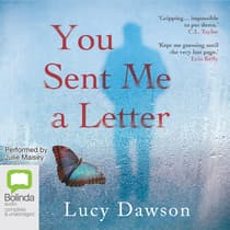 You Sent Me a Letter by Lucy Dawson audiobook