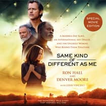 Same Kind of Different As Me Movie Edition by Ron Hall audiobook