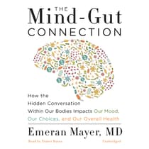 The Mind-Gut Connection by Emeran Mayer audiobook