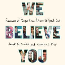 We Believe You by Annie E. Clark audiobook