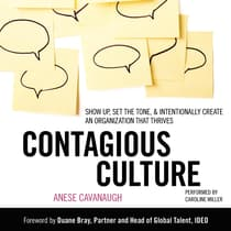 Contagious Culture by Anese Cavanaugh audiobook