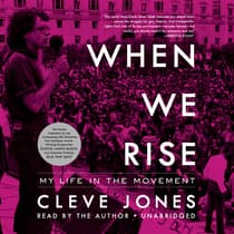 When We Rise by Cleve Jones audiobook