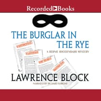 The Burglar in the Rye by Lawrence Block audiobook