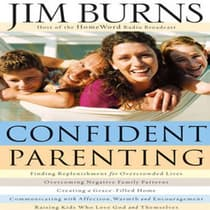 Confident Parenting by Jim Burns audiobook