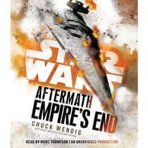 Empire's End: Aftermath by Chuck Wendig audiobook