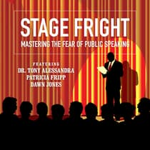 Stage Fright by Dianna Booher audiobook