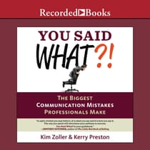 You Said What?! by Kim Zoller audiobook