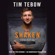 Shaken by Tim Tebow audiobook