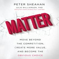 Matter by Peter Sheahan audiobook