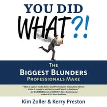 You Did What?! by Kerry Preston audiobook