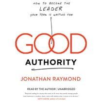 Good Authority by Jonathan Raymond audiobook