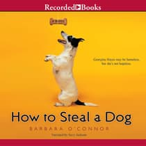 How to Steal a Dog by Barbara O'Connor audiobook