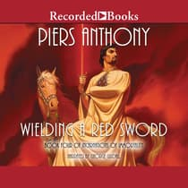 Wielding a Red Sword by Piers Anthony audiobook