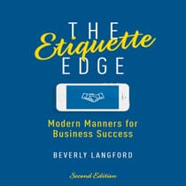 The Etiquette Edge by Beverly Langford audiobook
