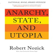 Anarchy, State, and Utopia by Robert Nozick audiobook