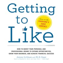 Getting to Like by Jeremy Goldman audiobook