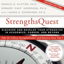 "StrengthsQuest by Edward ""Chip"" Anderson, Ph.D. audiobook"