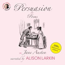 Persuasion and Poems by Jane Austen audiobook