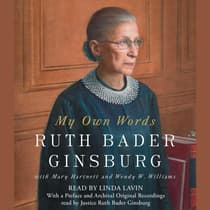 My Own Words by Ruth Bader Ginsburg audiobook