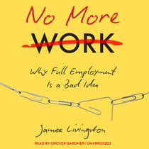No More Work by James Livingston audiobook