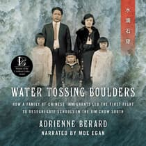 Water Tossing Boulders by Adrienne Berard audiobook